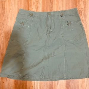 Cherokee army green skirt